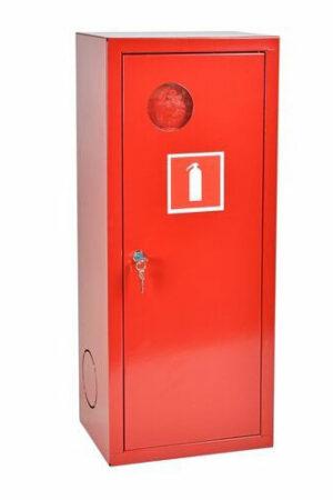 Шкаф для огнетушителя ШПО-102 НЗК красный