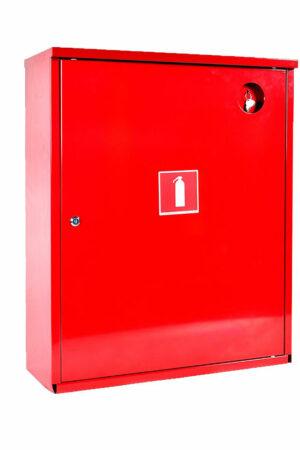 Шкаф для огнетушителя ШПО-112 НЗК красный